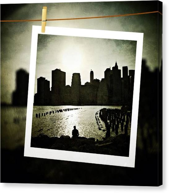New York In June Canvas Print