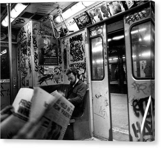 New York Subway Canvas Print