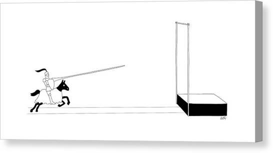 Vault Canvas Print - New Yorker March 27th, 2017 by Seth Fleishman