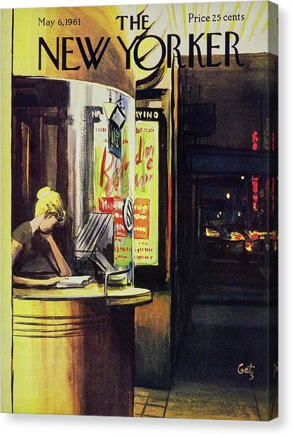 New Yorker May 6th 1961 Canvas Print