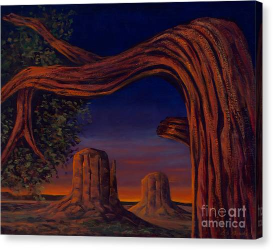 Night Sentinels Canvas Print