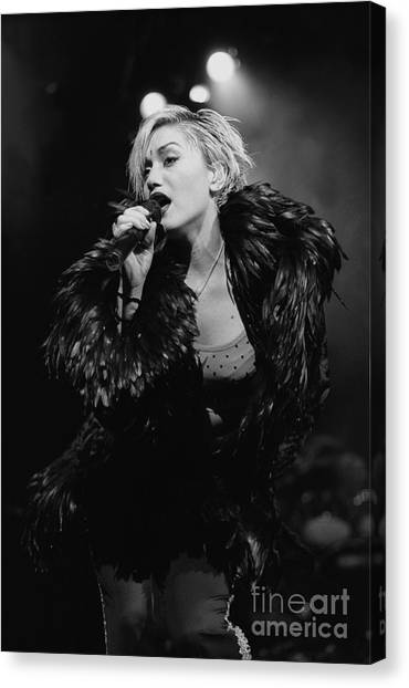 Gwen Stefani Canvas Print - No Doubt by Concert Photos