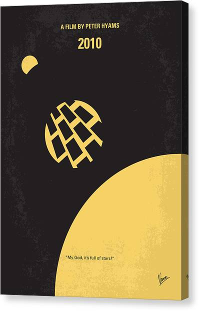 Design Canvas Print - No365 My 2010 Minimal Movie Poster by Chungkong Art