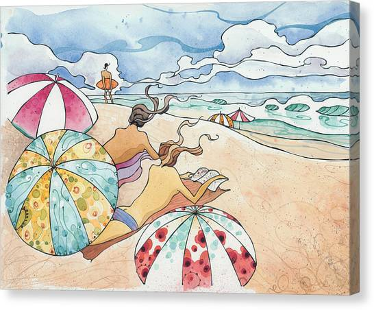 Noosa Ninnies Canvas Print