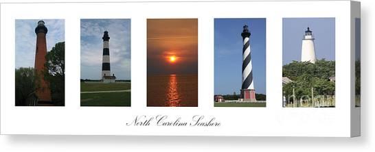 North Carolina Seashore Canvas Print