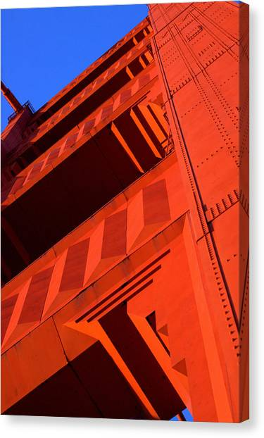 North Tower Golden Gate Bridge Canvas Print