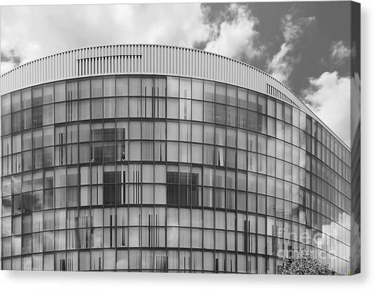Northeastern University Canvas Print - Northeastern University Behrakis Health Sciences Center by University Icons