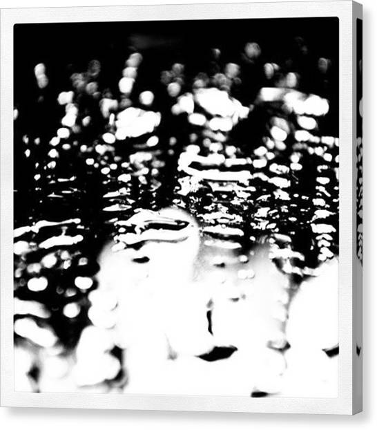 Minimalism Canvas Print - Water On The Mirror by Jason Michael Roust