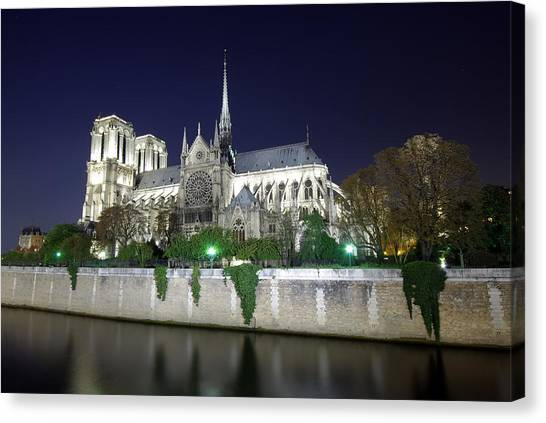 Notre Dame Cathedral Canvas Print by Ioan Panaite