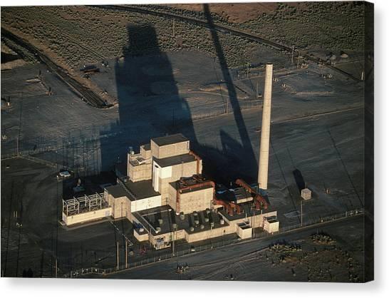 Nuclear Plants Canvas Print - Nuclear Facility, Washington, Usa by Peter Essick