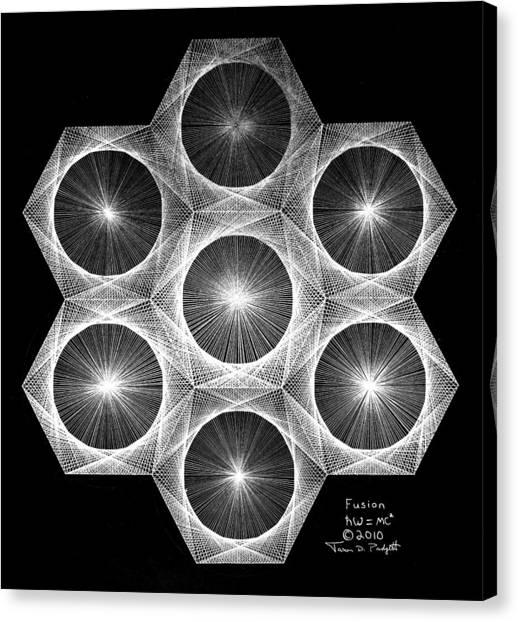 Nuclear Fusion Canvas Print