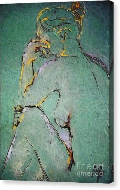 Nude IIi  Canvas Print
