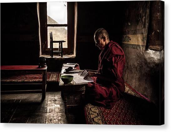 Monastery Canvas Print - Nun's World by Marco Tagliarino