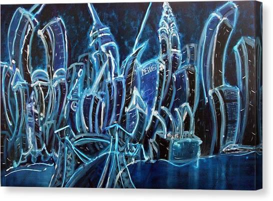 Nyc Jazz Canvas Print