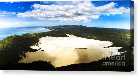 Island .oasis Canvas Print - Oasis In Tropical Paradise by Jorgo Photography - Wall Art Gallery
