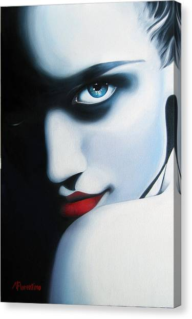 Obsession Canvas Print by Newton Florentino