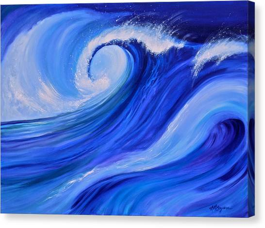 Ocean Emotion #1 Canvas Print