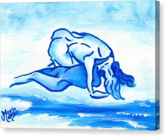 Ocean Of Desire Canvas Print
