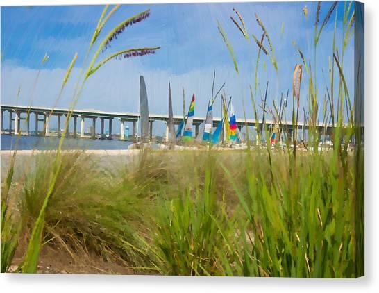 Ocean Springs Yacht Club Canvas Print