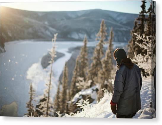 Yukon Canvas Print - Off The Grid Living In The Canadas by Rafal Gerszak