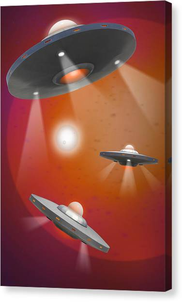 Imaginative Canvas Print - Oh - I Believe 5 by Mike McGlothlen