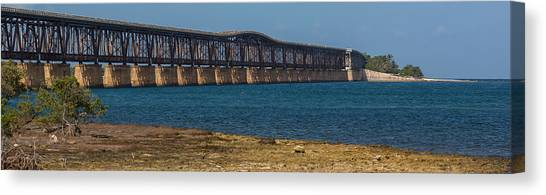 Old Bahia Honda Bridge Canvas Print