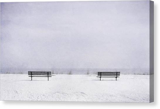Lake Michigan Canvas Print - Old Friends by Scott Norris