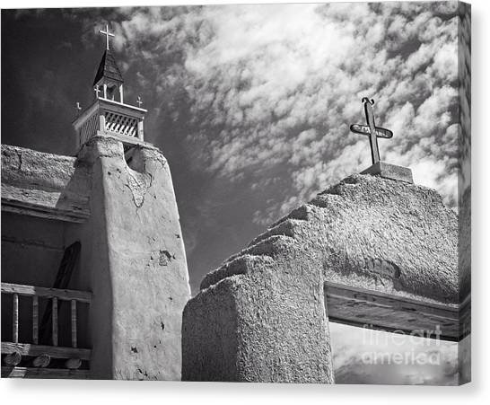 Old Mission Crosses Canvas Print