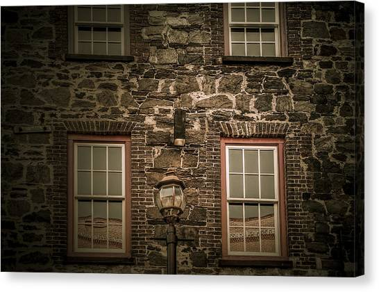 Old Savannah Canvas Print