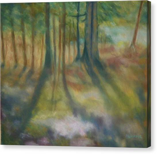 On Mossy Ground II Canvas Print