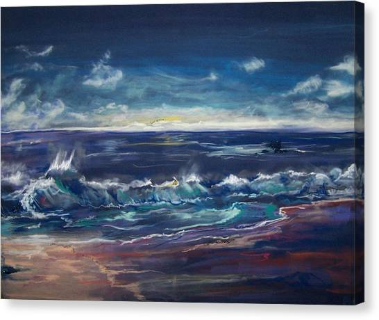 Open Sea Canvas Print