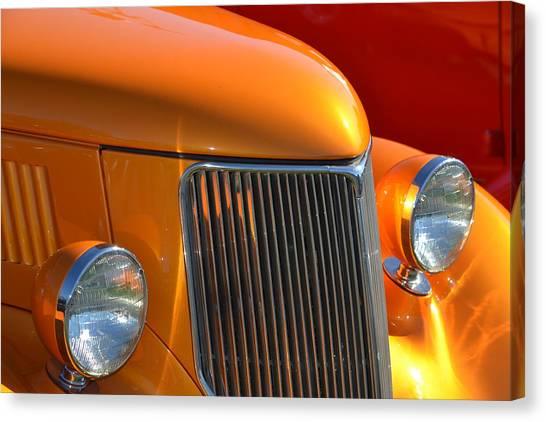 Orange Hotrod Canvas Print
