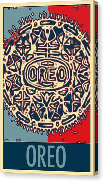 Nabisco Canvas Print - Oreo In Hope2 by Rob Hans