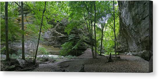 Ottawa Canyon Canvas Print by Gary Lobdell