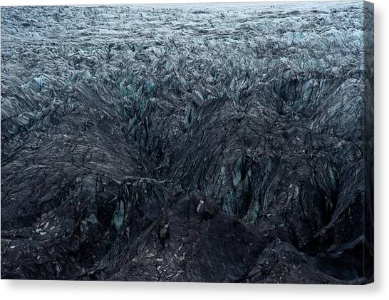 Vatnajokull Glacier Canvas Print - Overview Of Icelandic Glacier by Arthur Meyerson