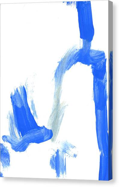 Canvas Print - Painting Of A Childs Scribble by Fizzy Image