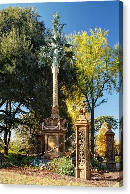 Palmetto Regiment Monument  Canvas Print