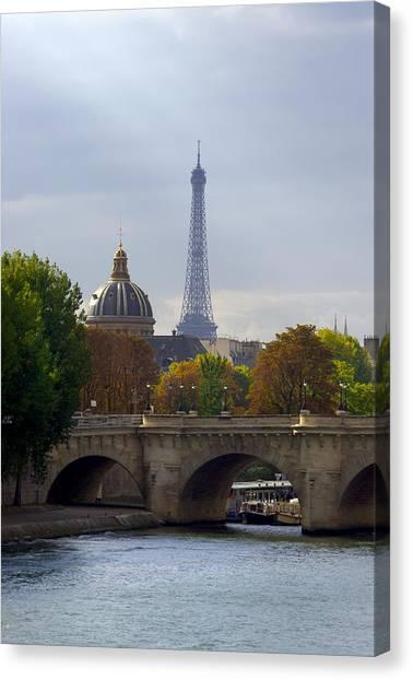 Paris Canvas Print by Ioan Panaite