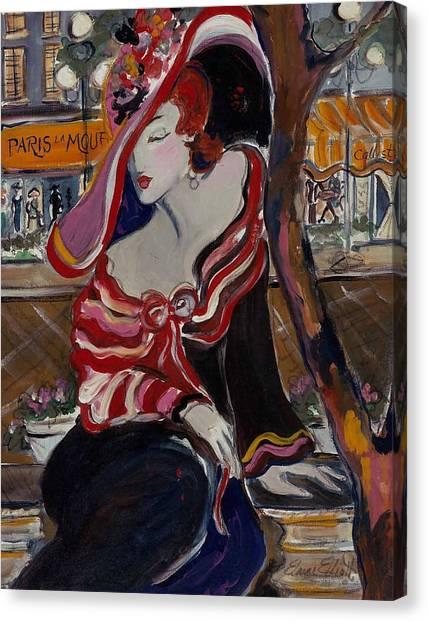 Paris La Mouff Canvas Print