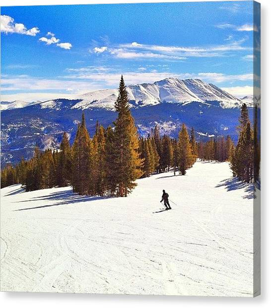 Rocky Mountains Canvas Print - Peak Ten by Jonathan Joslyn