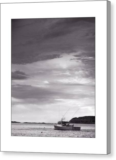 Pending Storm Canvas Print by Don Powers