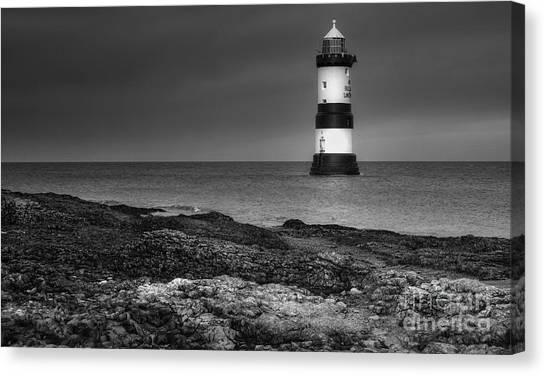 Penmon Lighthouse Canvas Print