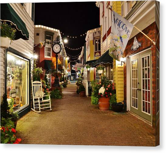 Penny Lane - Rehoboth Beach Delaware Canvas Print