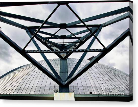 Pittsburgh Penguins Canvas Print - Perspectives Mellon Arena by Amy Cicconi