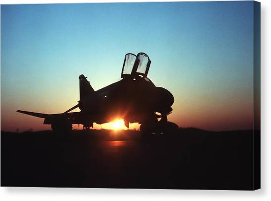 Sunrise Canvas Print - Phantom Sunrise by Peter Chilelli