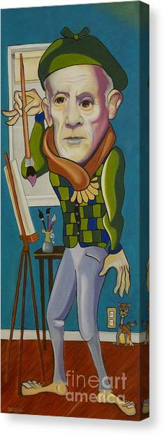 Picasso Canvas Print