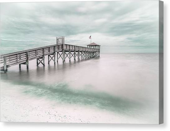 Stars And Stripes Canvas Print - Pier by Martin Steeb