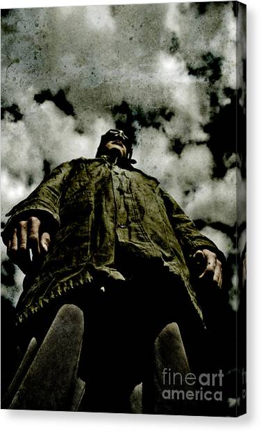 Aviators Canvas Print - Pilots Perspective by Jorgo Photography - Wall Art Gallery
