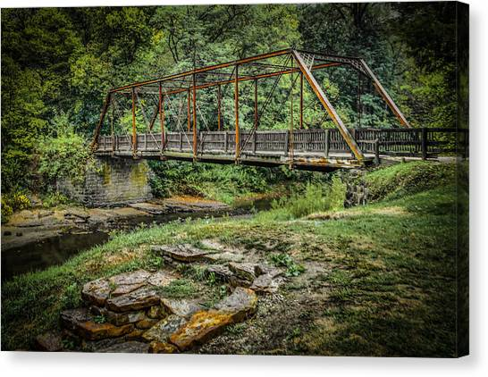 Pine Creek Bridge Canvas Print