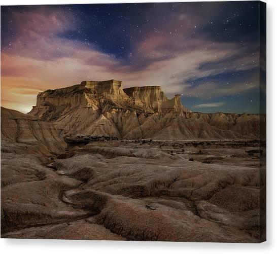 Mountain Cliffs Canvas Print - Piskerra by Martin Zalba